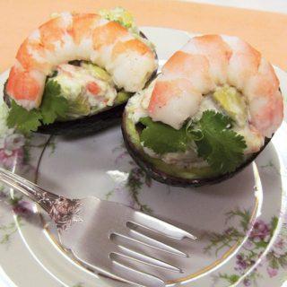 Amazing Avocado with Shrimp