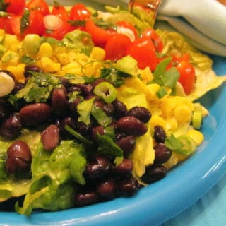Updated Cobb Salad | Healthy Southwest Cobb Salad | Perfect Hard Boiled Eggs | Famous Food