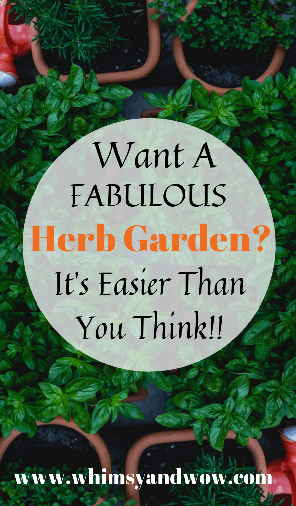 The Secret to an Herb Garden is Easier Than You Think!