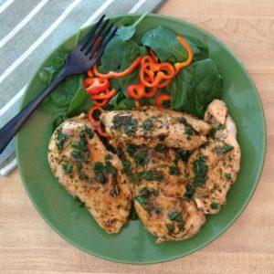 Herbed Chicken is a versatile go-to dish.