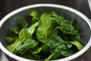Spinach is one of nature's perfect foods.