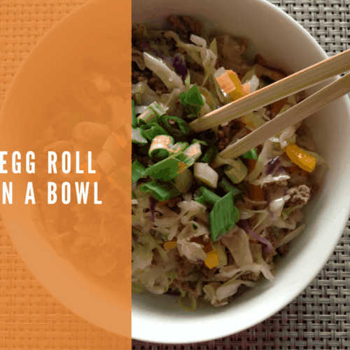 Healthy Low Carb Egg Roll in a Bowl