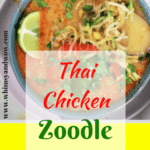 Thai Chicken Soup that Will Change Your Life   thai chicken soup   Thai Chicken Soup is a twist on the old classic - but equally as soothing as your grandmother's old recipe. The exotic but easy to find flavors dance on your taste buds while maybehelping to quiet those sniffles.
