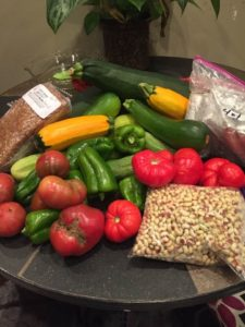 vegetables from the Farmer's Market