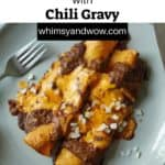 Tex-Mex Enchiladas with Chili Gravy | tex-mex enchiladas | Tex Mex Enchiladas with Chili Gravy