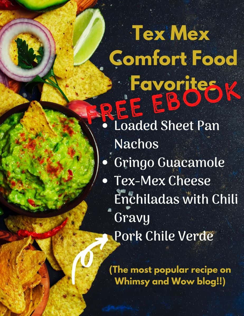 Tex Mex Comfort Foods - FREE PRINTABLE eBook | Tex Mex Comfort Foods | TEX MEX COMFORT FOOD FAVORITES